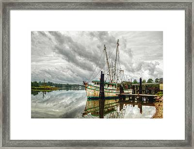 Christy Lynn On Bon Secour Framed Print
