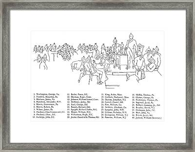 Christy: U.s. Constitution Framed Print by Granger