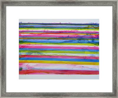 Chroma Flow Framed Print by Tom Hefko