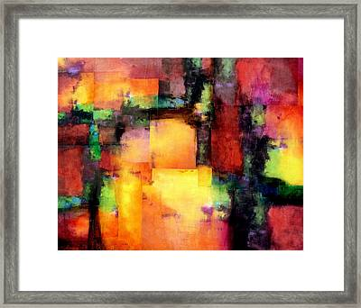 Chroma  Framed Print