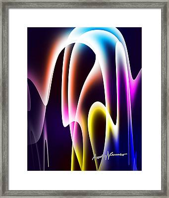 Chromasine Framed Print by Anthony Caruso