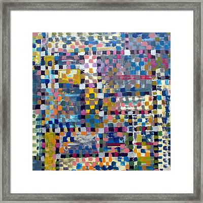 Chromatic Indulgence Framed Print