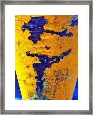 Framed Print featuring the photograph Chromatic Peels by Olivier Calas