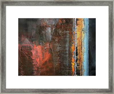 Chromatic Steel Framed Print