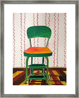 Chrome And Parquet Framed Print by John Williams
