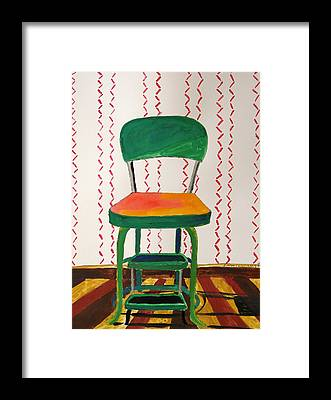 Stepstools Framed Prints