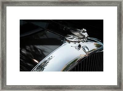 Chrome Angel Framed Print
