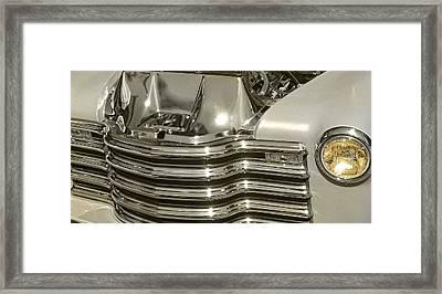 Chrome Chevy Pickup Framed Print by Thom Zehrfeld