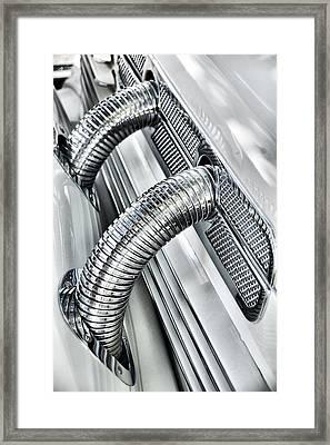 Chrome Framed Print by Michael Gass
