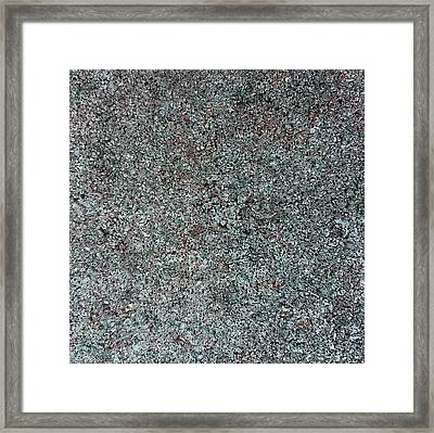 Chrome Mist Framed Print by Alan Casadei