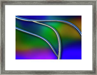 Chrome Framed Print by Paul Wear