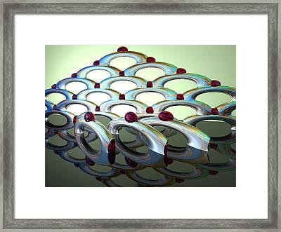 Chrome Sundae Framed Print by Scott Piers
