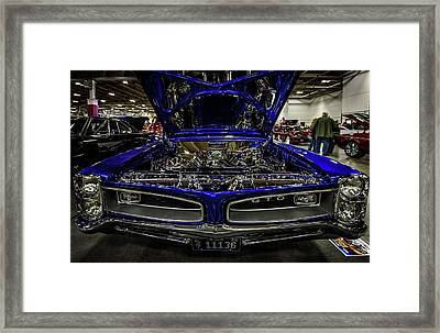 Framed Print featuring the photograph Chromed Goat by Randy Scherkenbach