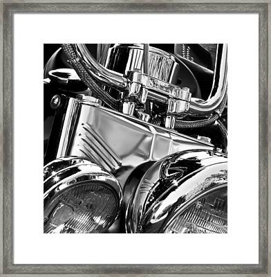 Framed Print featuring the photograph Chromed by Richard George