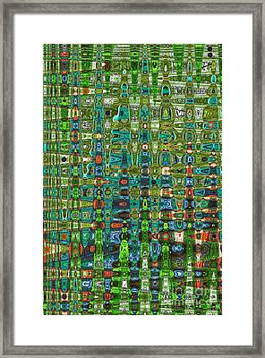 Framed Print featuring the photograph Chromosome 22 by Diane E Berry