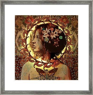 Chrysalis Framed Print by Gary Kroman