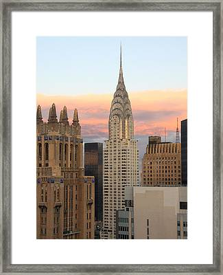 Chrysler Building 2 Framed Print