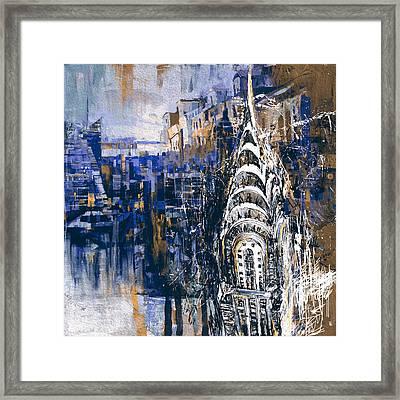 Chrysler Building 205 4  Framed Print by Mawra Tahreem
