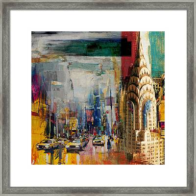 Chrysler Building 206 1  Framed Print