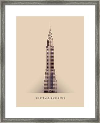 Chrysler Building - Full Framed Print