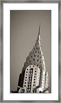 Chrysler Building New York City Framed Print by Juergen Held