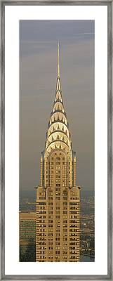 Chrysler Building New York Ny Framed Print by Panoramic Images