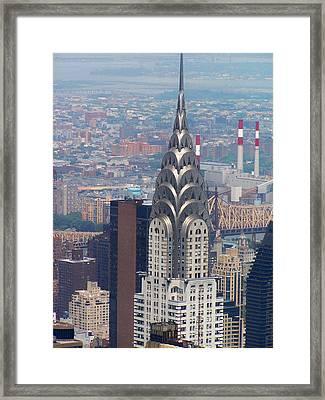 Chrysler Building Framed Print by Vijay Sharon Govender
