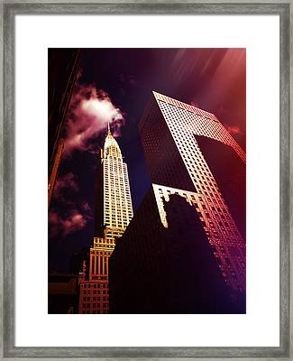 Chrysler Building Framed Print by Vivienne Gucwa