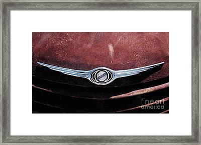 Chrysler Hood Framed Print