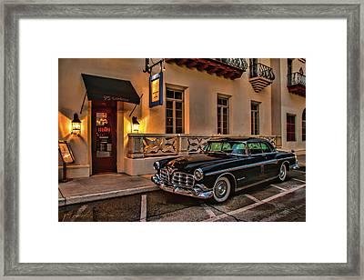 Chrysler Imperial Casa Monica Hotel Framed Print