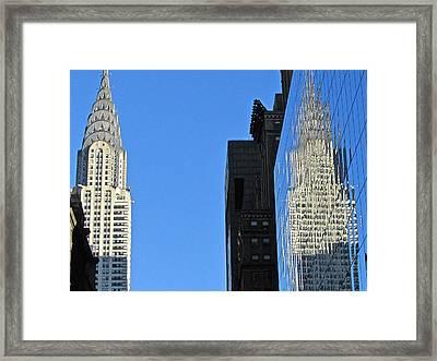 Chrysler Reflections Framed Print