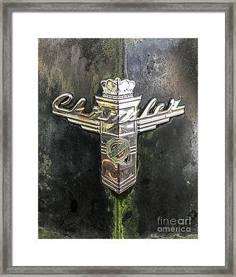 Framed Print featuring the photograph Chrysler by Terry Rowe