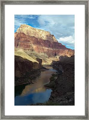 Chuar Butte Colorado River Grand Canyon Framed Print