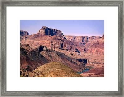 Chuar Butte  Grand Canyon National Park Framed Print