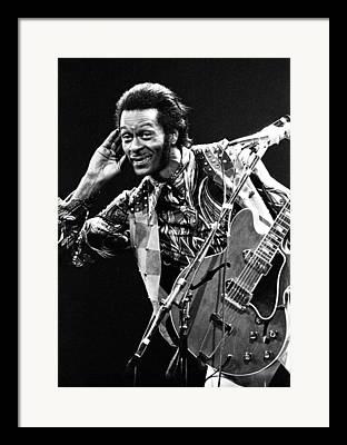 Chuck. Rock Framed Prints