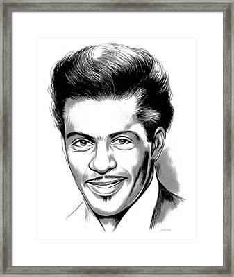 Chuck Berry 2 Framed Print by Greg Joens