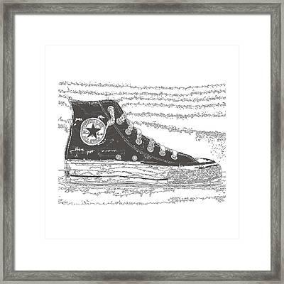 Chuck Taylor High Tops Framed Print