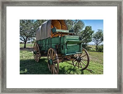 Chuck Wagon Framed Print