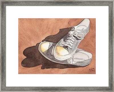 Chucks Framed Print by Ken Powers