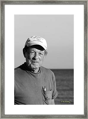 Framed Print featuring the photograph Chum by R B Harper