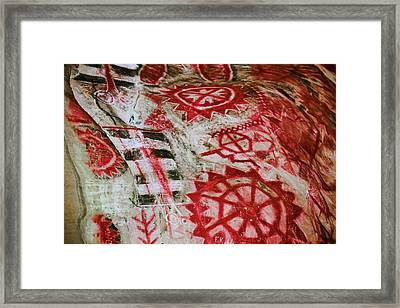 Chumash Painted Cave State Historic Park Framed Print