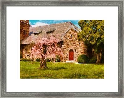 Church - Heaven Created Framed Print by Mike Savad