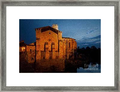Framed Print featuring the photograph Church 1 by Jean Bernard Roussilhe