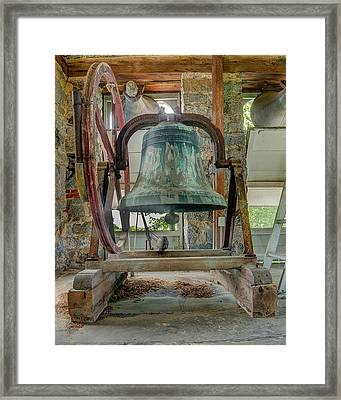 Church Bell 1783 Framed Print