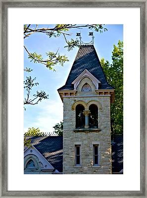 Church Bell Tower Framed Print by Richard Jenkins