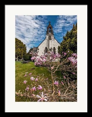 St. Digain Framed Prints
