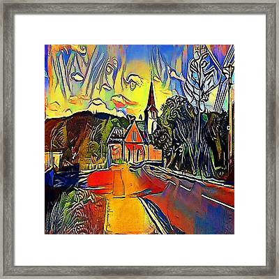 church brno - My WWW vikinek-art.com Framed Print