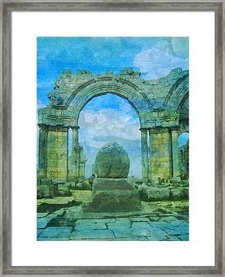 Church Byzantine Simeon  Framed Print