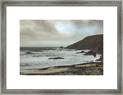 Framed Print featuring the photograph Church Cove Gunwallow by Brian Roscorla