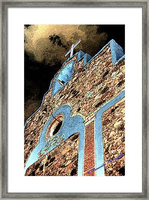 Church Cross Framed Print